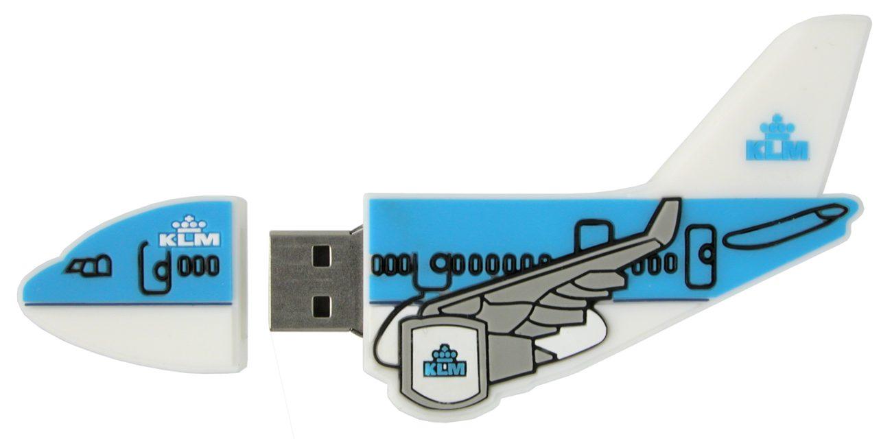 Airplane Usb Memory Stick Klm Cd169