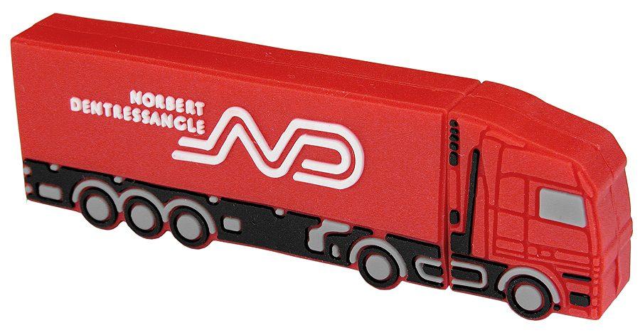 Bespoke Usb Stick Lorry Norbert Dentressangle Cd202