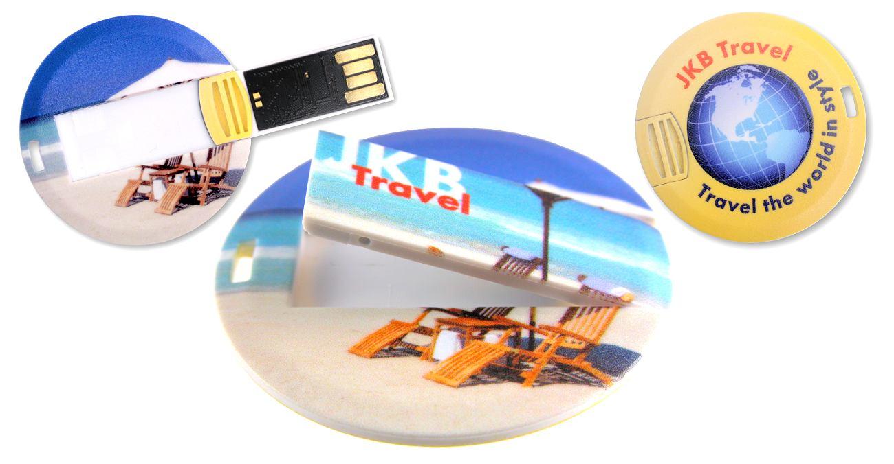 Coin Usb Business Card Cd179