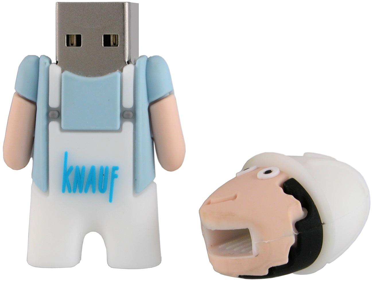 Construction Worker Usb Stick Knauf Cd257