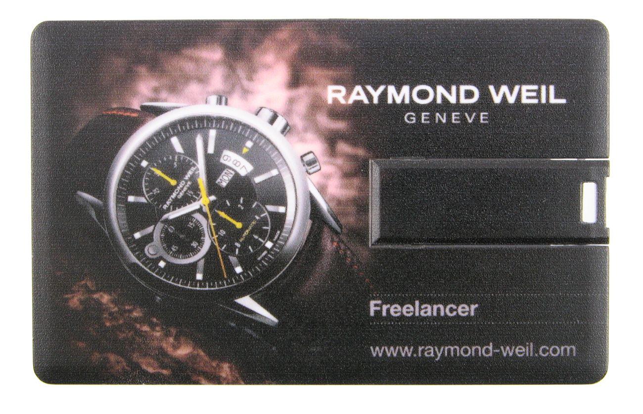 Credit Card Usb Flash Drive Raymond Weil Geneve Cd216