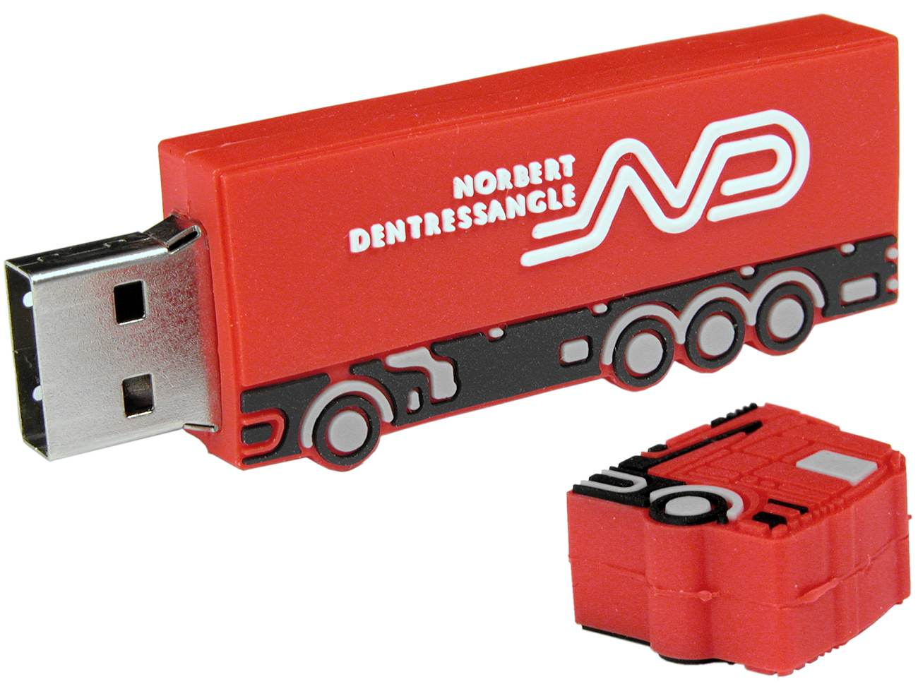Custom Usb Stick Lorry Cd203
