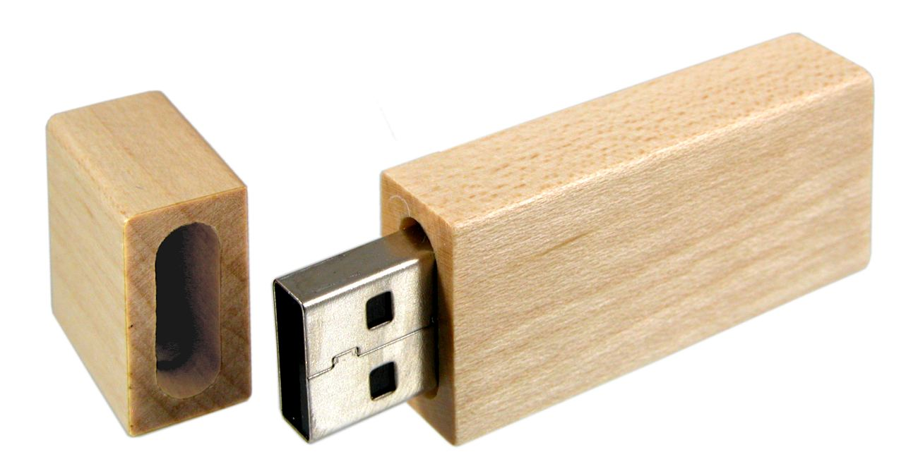 Eco Friendly Usb Stick Wood Cd102