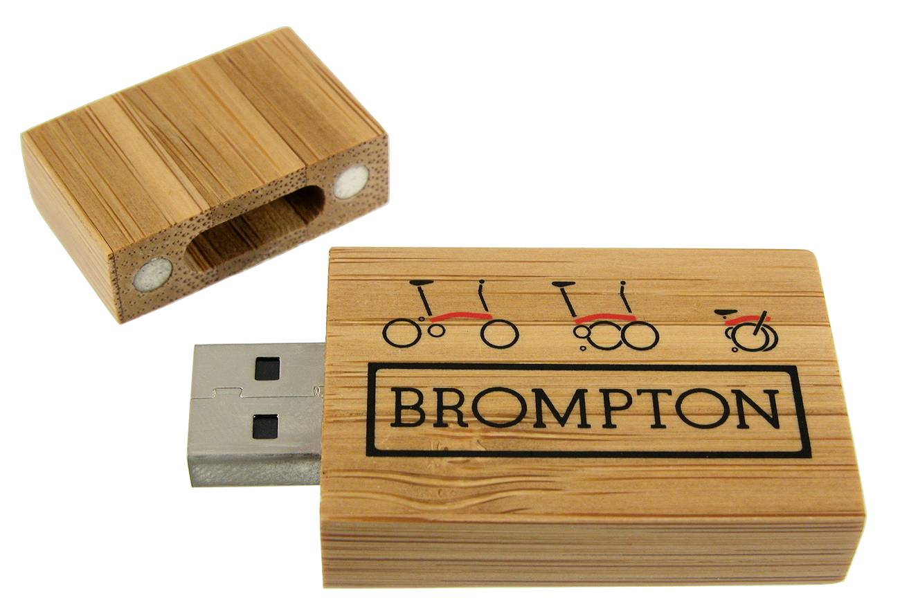 Eco Usb Flash Drive Bamboo Block Cd101