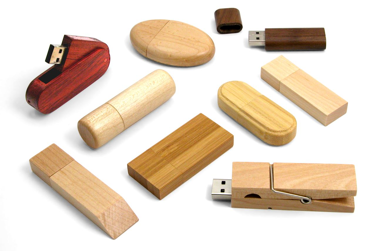 Eco Wood Usb Sticks Selection Cd105