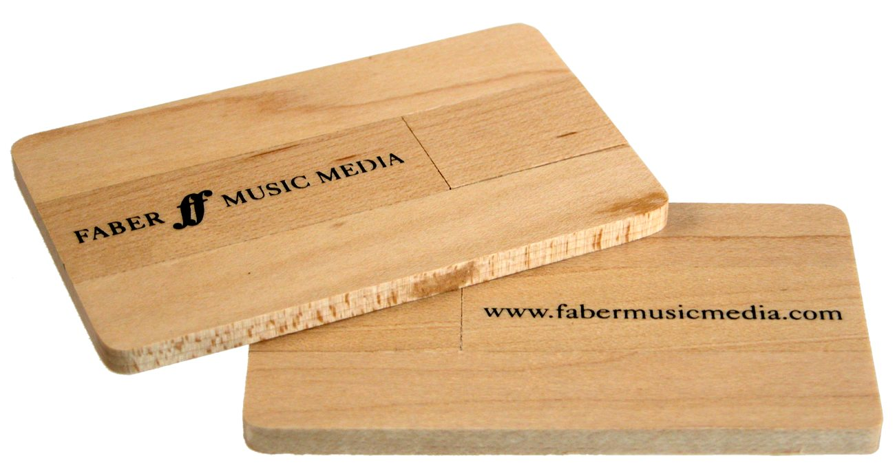 Eco Wooden Usb Business Cards Cd265