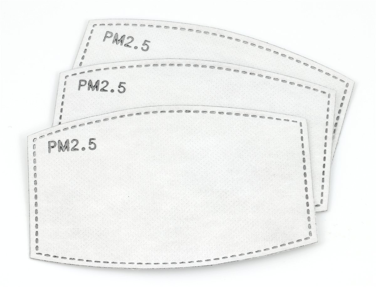 Face mask filters, three type PM2.5