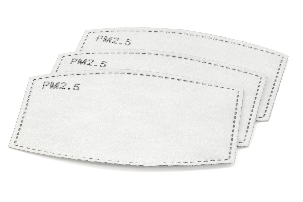 Face mask filters PM2.5 replaceable type