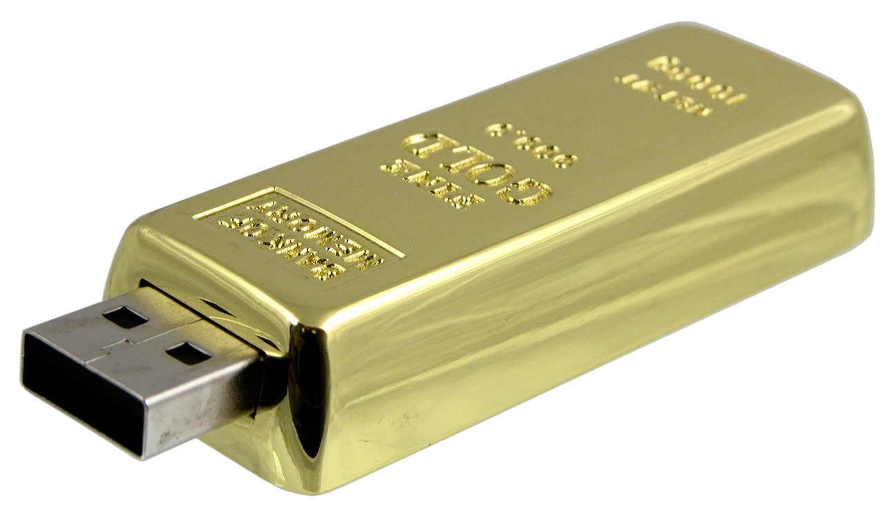 Gold Bar Usb Flash Drive Cd159
