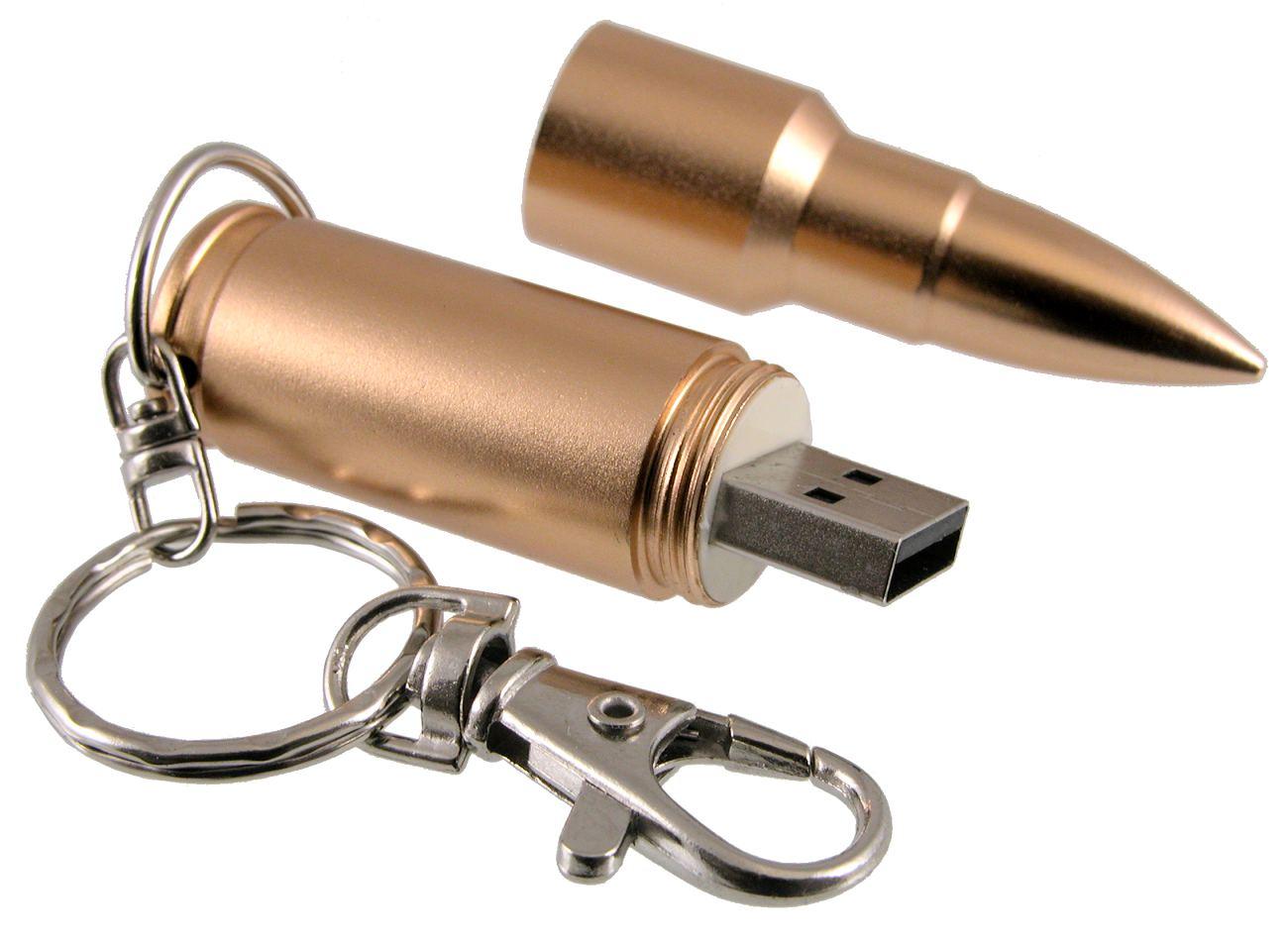 Golden Bullet Usb Stick Cd195