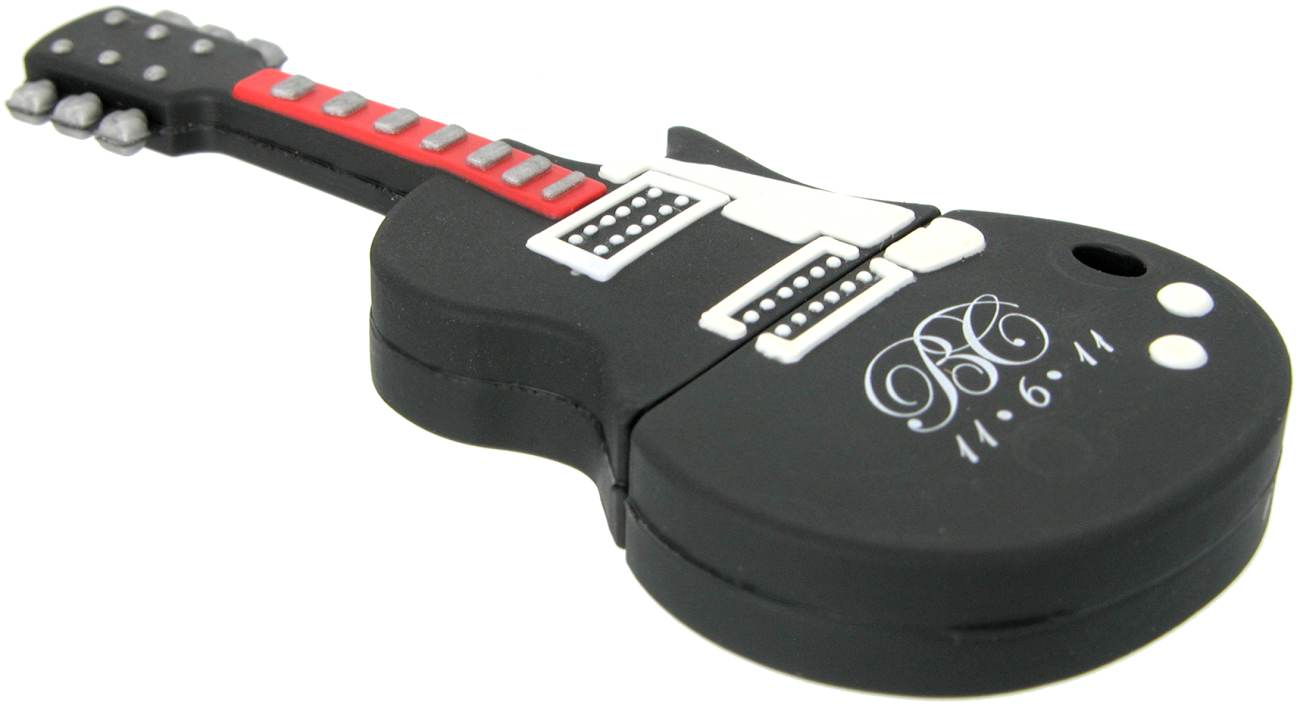 Guitar Shaped Usb Stick Cd207