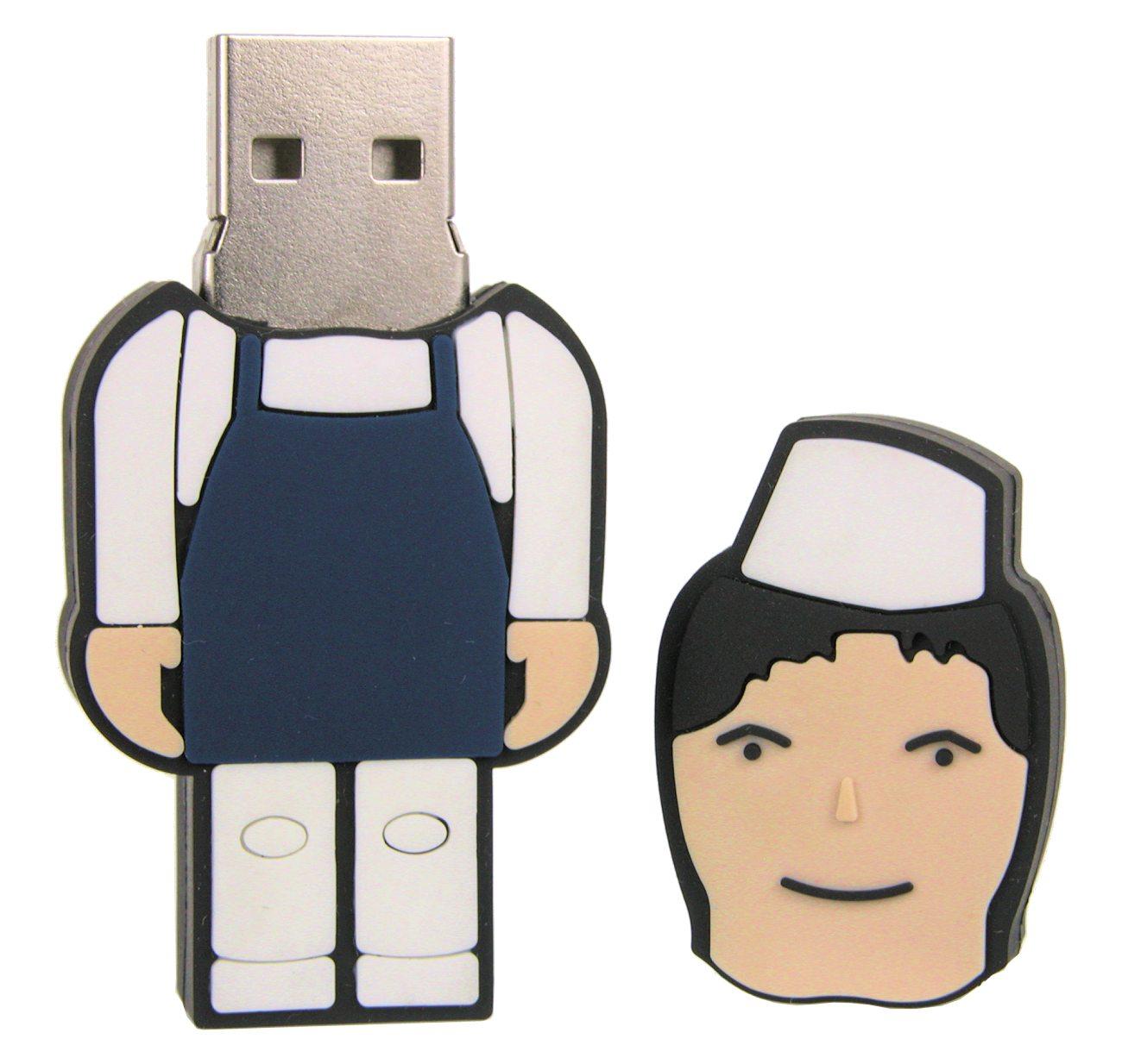 Human Usb Flash Drive Lady Cd219