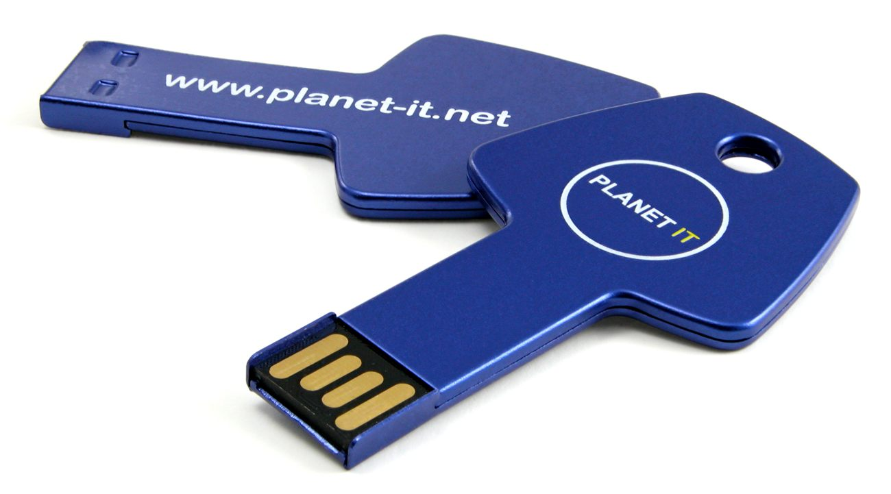 Key Usb Flash Branded Planet It Cd138