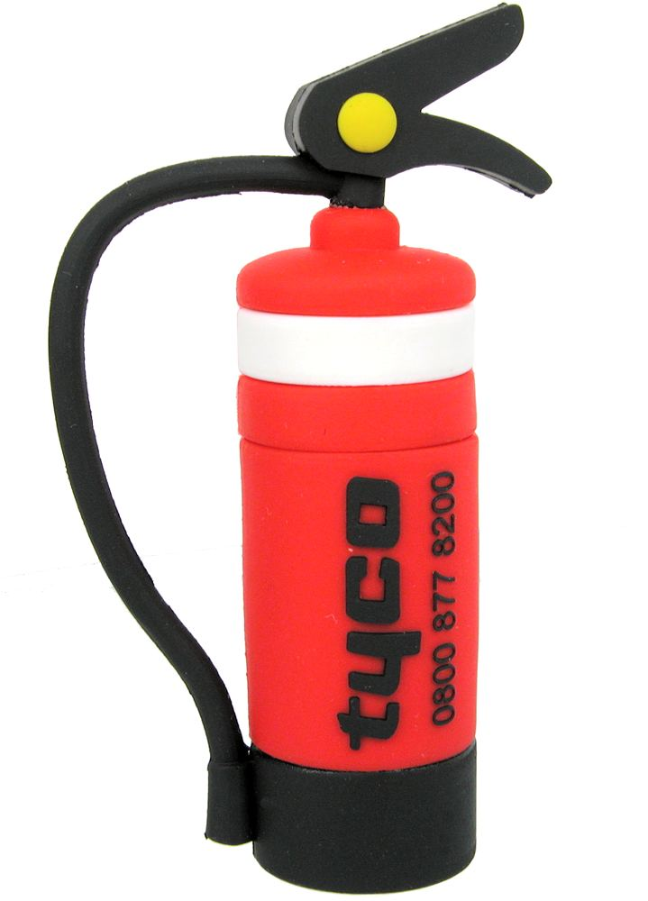 Novelty Usb Drive Fire Extinguisher Tyco Cd227