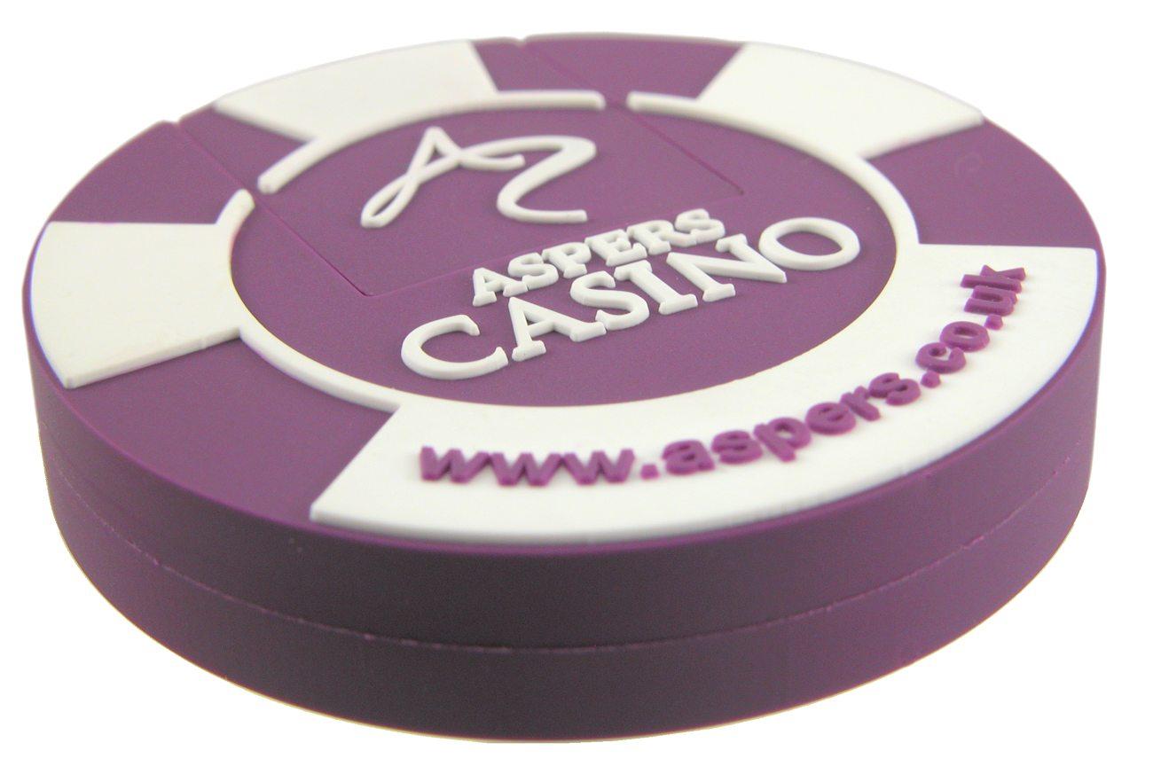Poker Chip Usb Memory Stick Aspers Casino Cd139