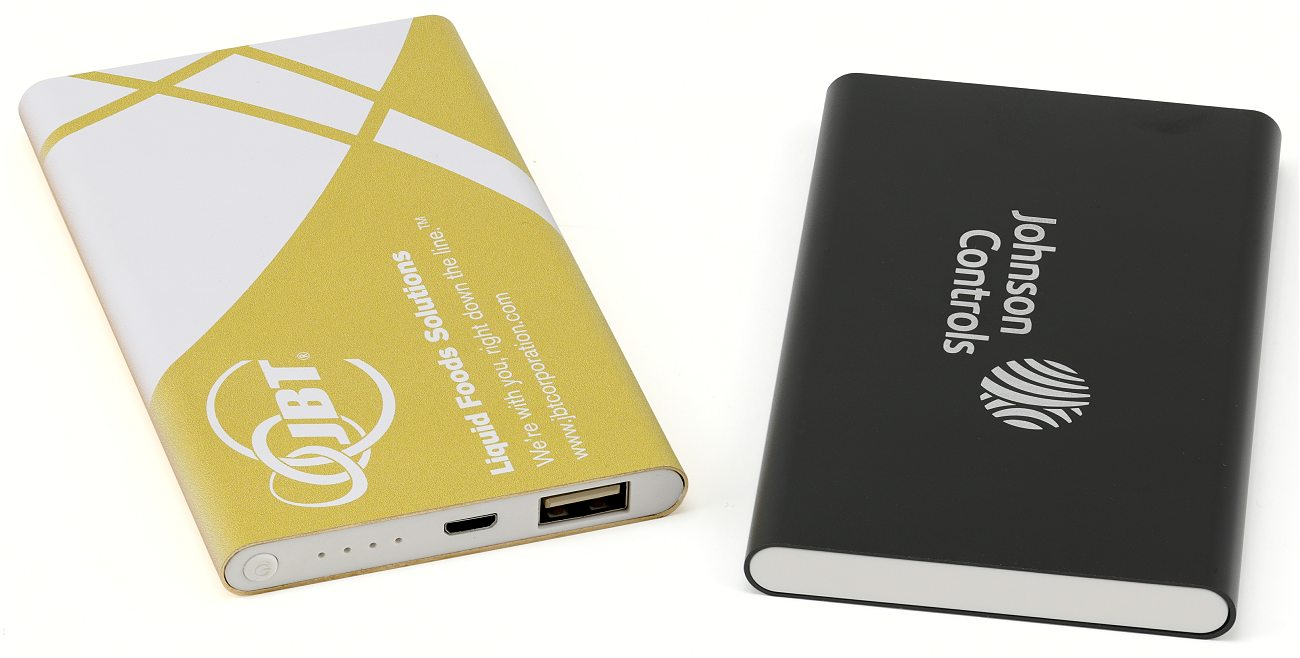 Power Banks Yellow Print Black Cd029