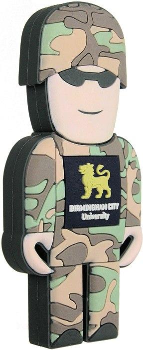 Soldier Usb Stick Logo Branded Cd184