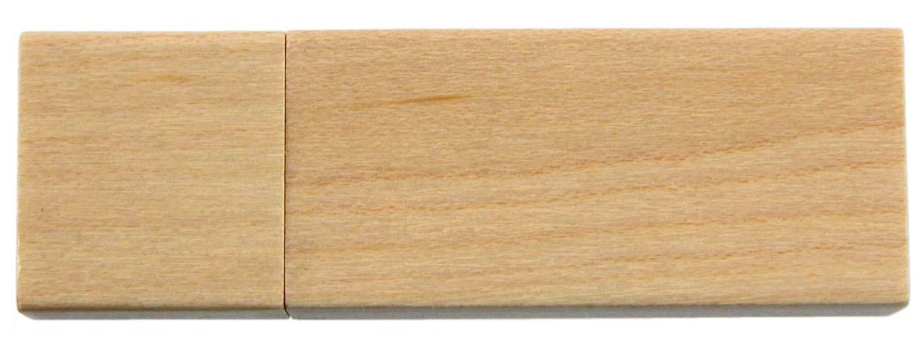 Sustainable Usb Stick Light Wood Cd267