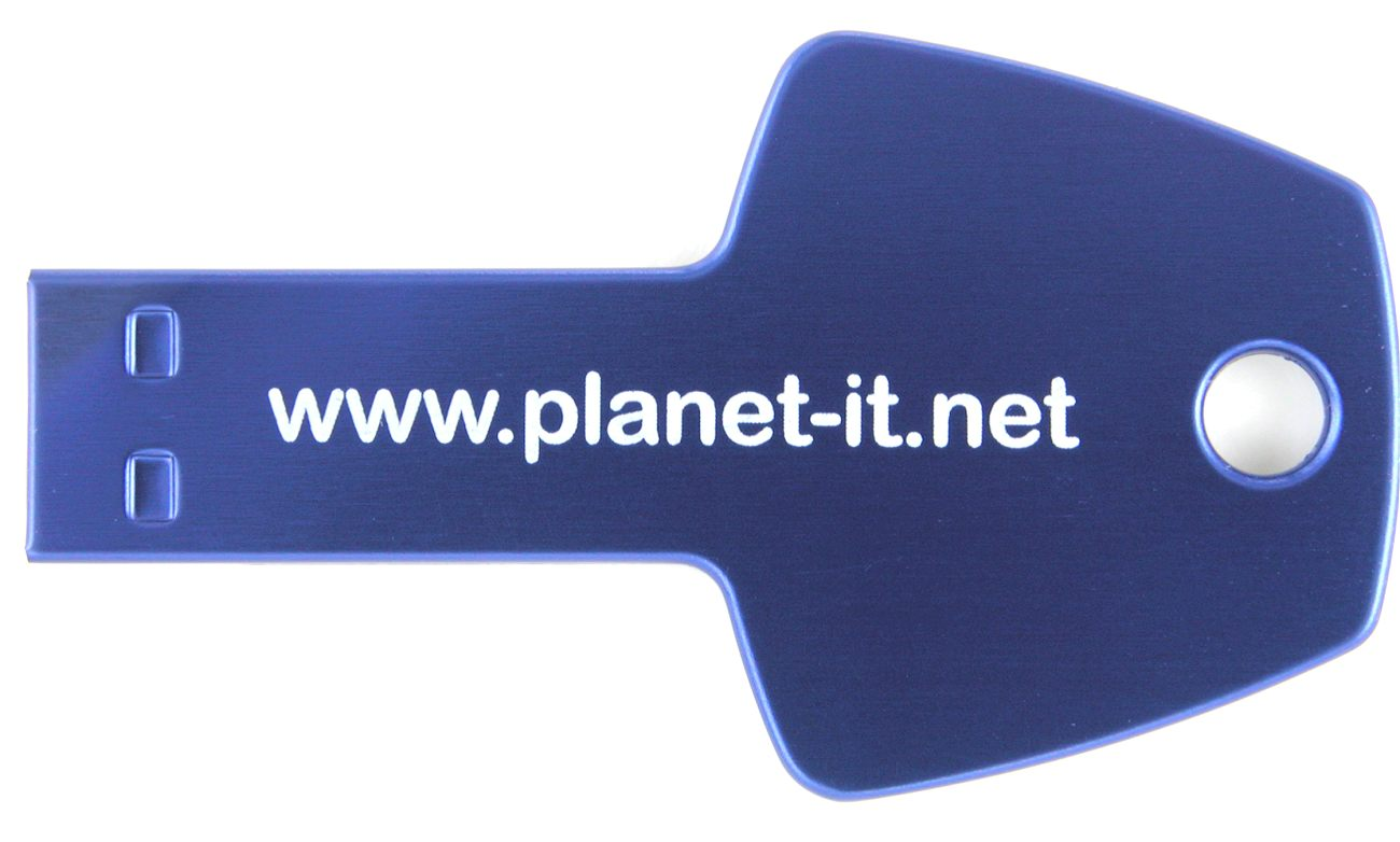 Usb Stick Key Branded Planet It Cd137