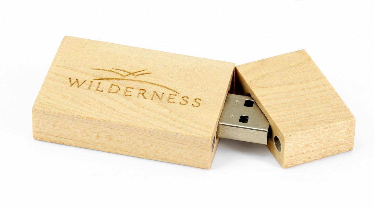 Wooden Eco Friendly USB Flash Drive